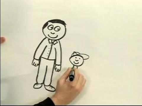 480x360 Easy Cartoon Drawing How to Draw a Cartoon Man