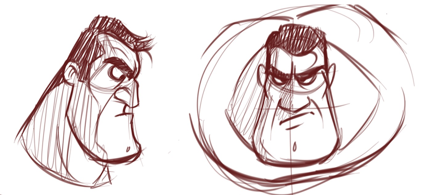 1370x634 How To Draw Macho Men And Overweight Characters