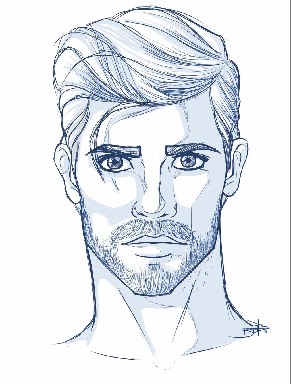 1024x1348 Photos Sketches Of Men Faces,