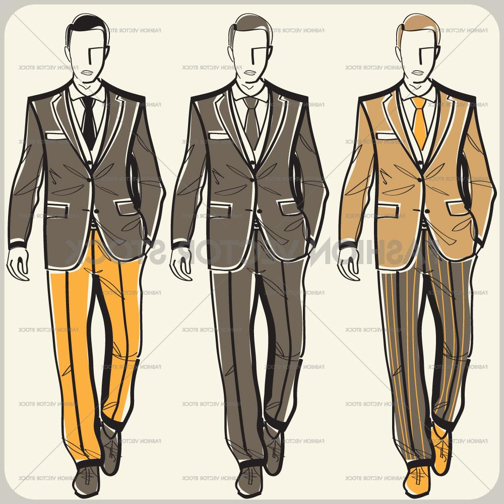 1000x1000 Top 10 Men In Suits Product Drawing