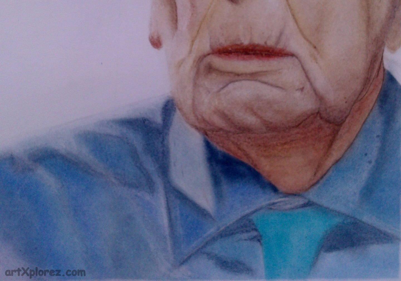 1440x1007 An Old Man Portrait With Soft Pastels Artxplorez