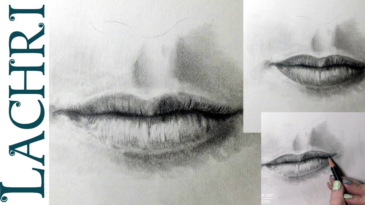1280x720 How To Draw A Realistic Mouth