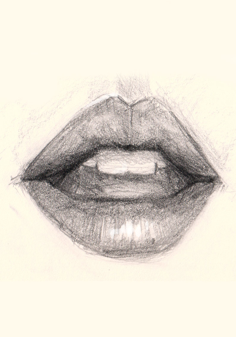 794x1134 How To Draw Lips