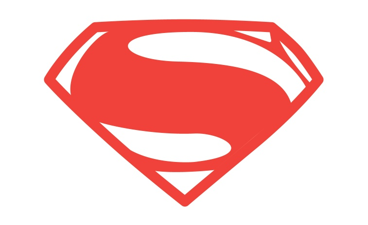 757x464 Man Of Steel Symbol In Illustrator And Photoshop