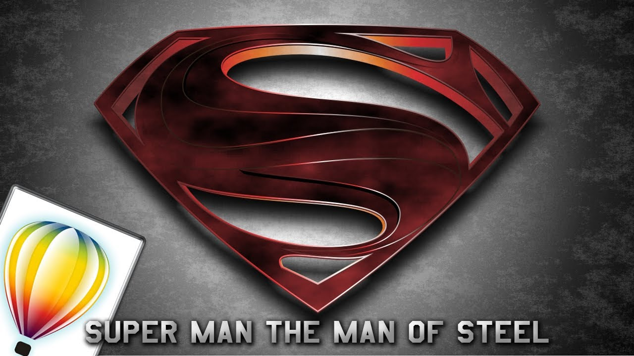 Man Of Steel Logo Drawing At Getdrawings Free For Personal Use
