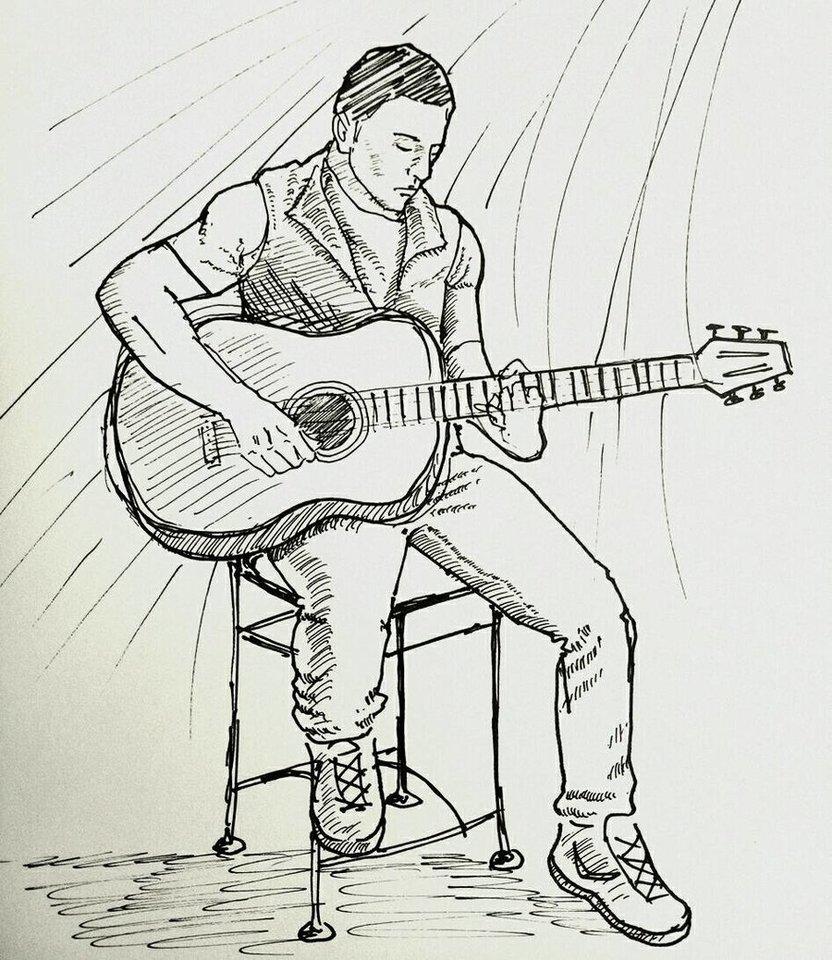 832x960 Playing Guitar By Budiemanhakim