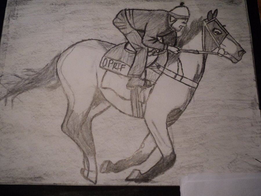 Man Riding Horse Drawing At Getdrawings Com Free For Personal Use
