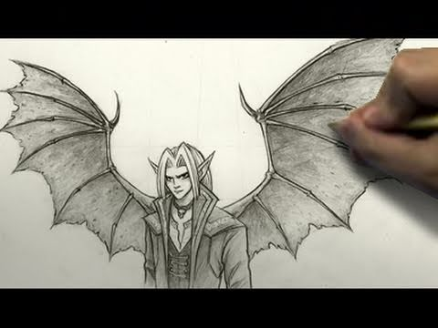 480x360 How To Draw Demon Wings