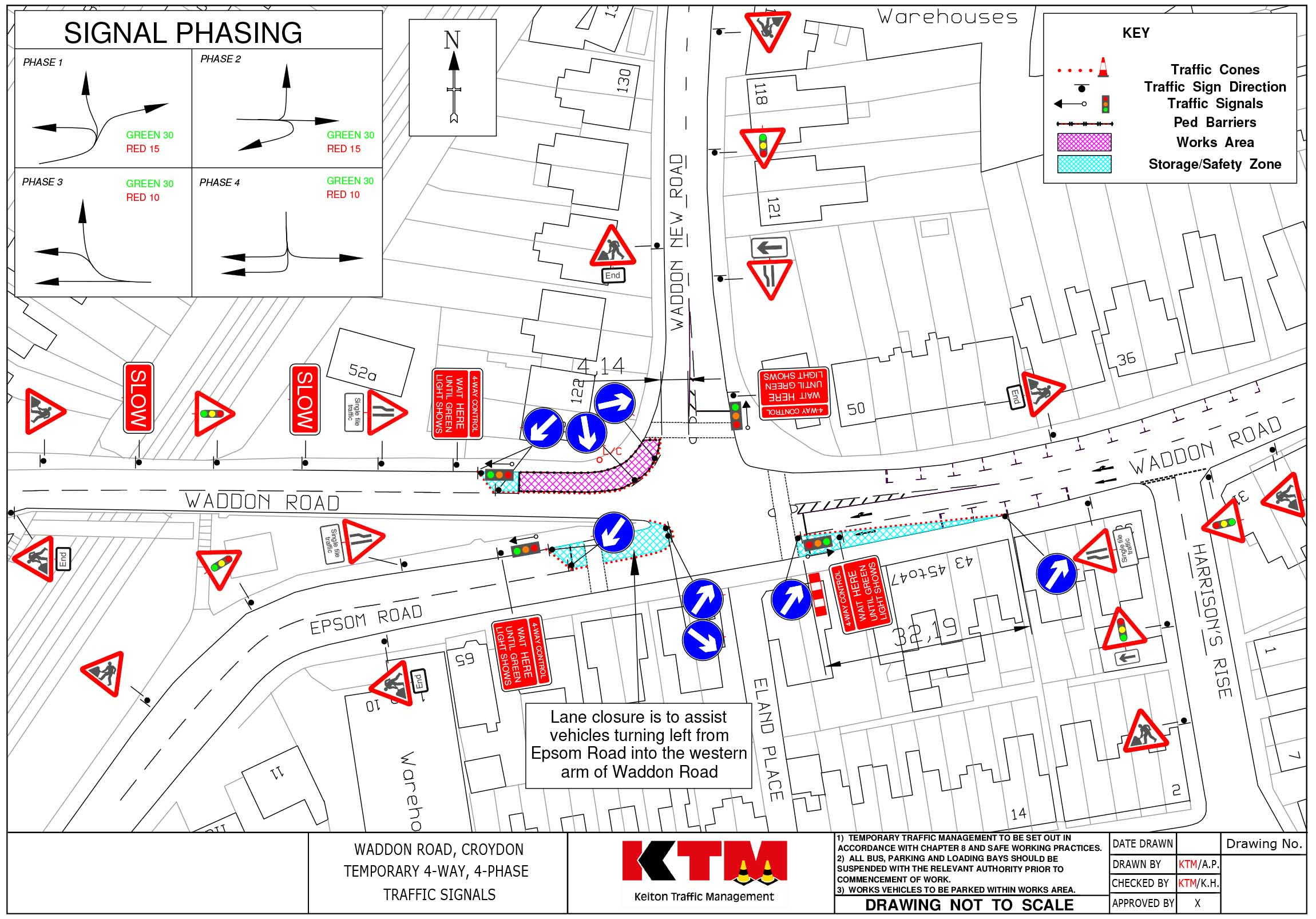 2300x1606 Ktm Keiton Traffic Management Drawings Traffic Management