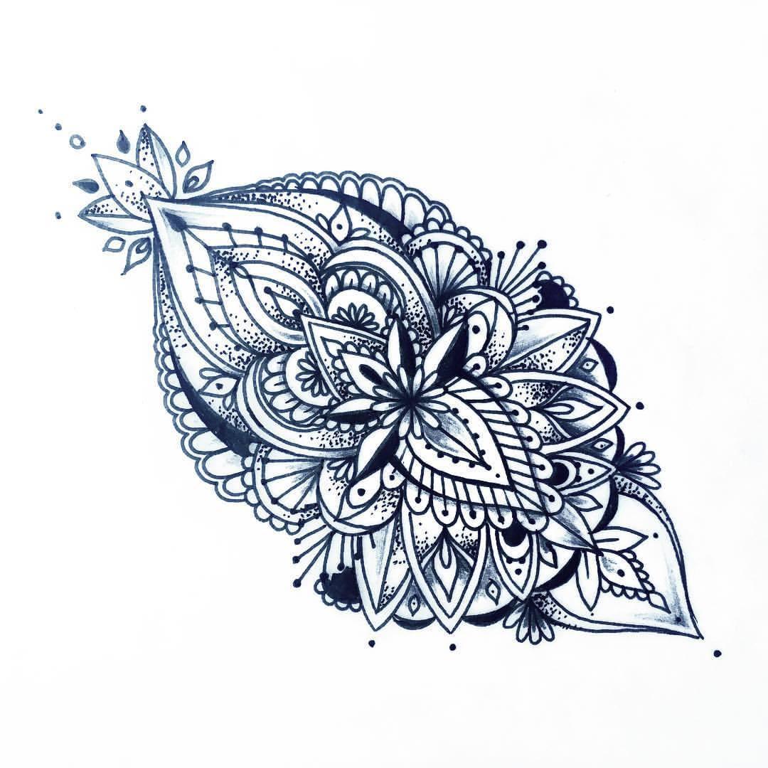 1080x1080 Ceesirart Freehand Mandala Amp Henna Tattoo