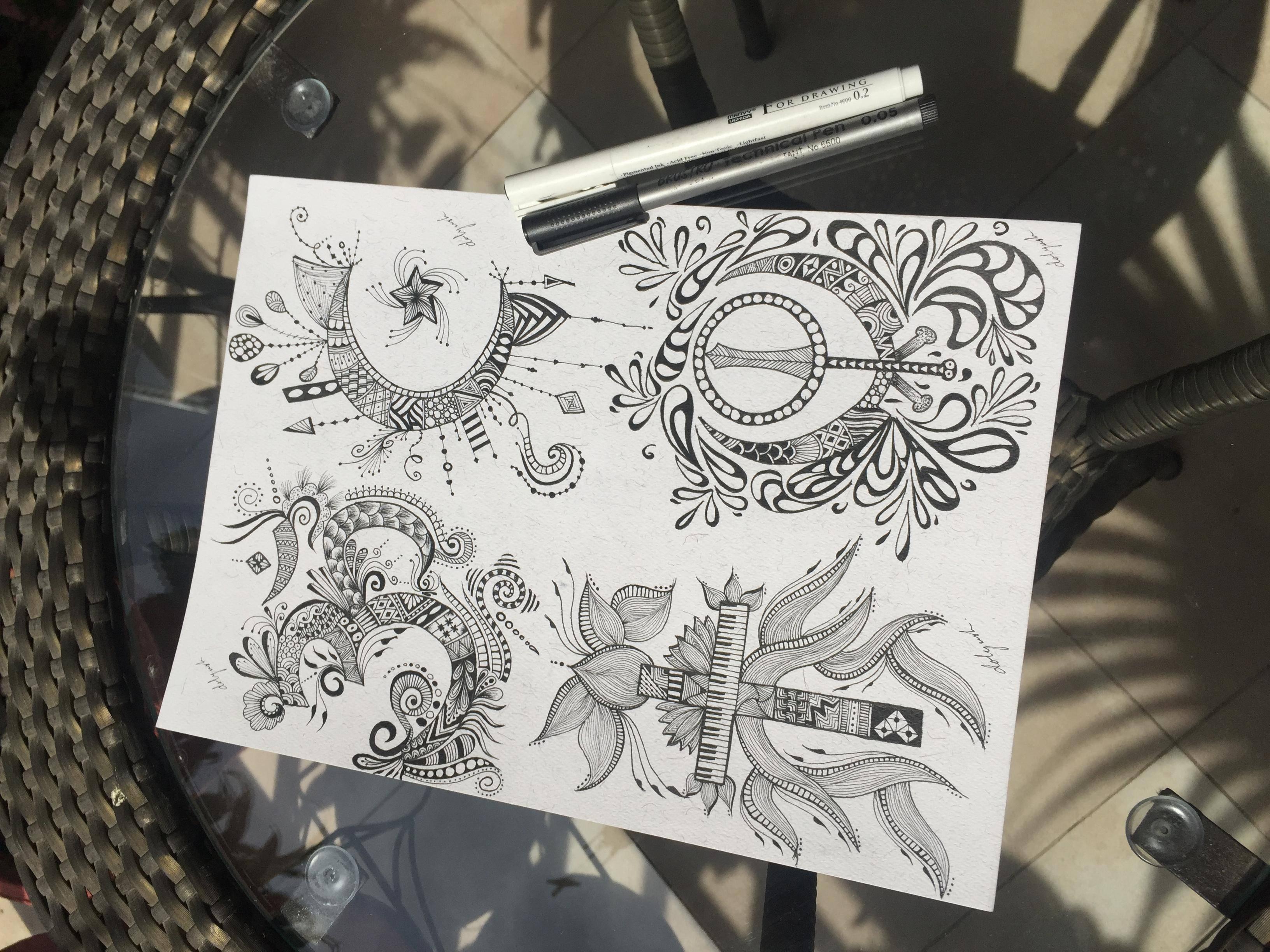 3264x2448 Dolyush Zentangle And Mandala Art Course