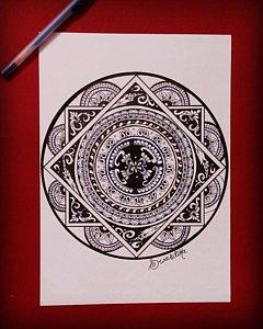 240x300 Mandala Art Drawings