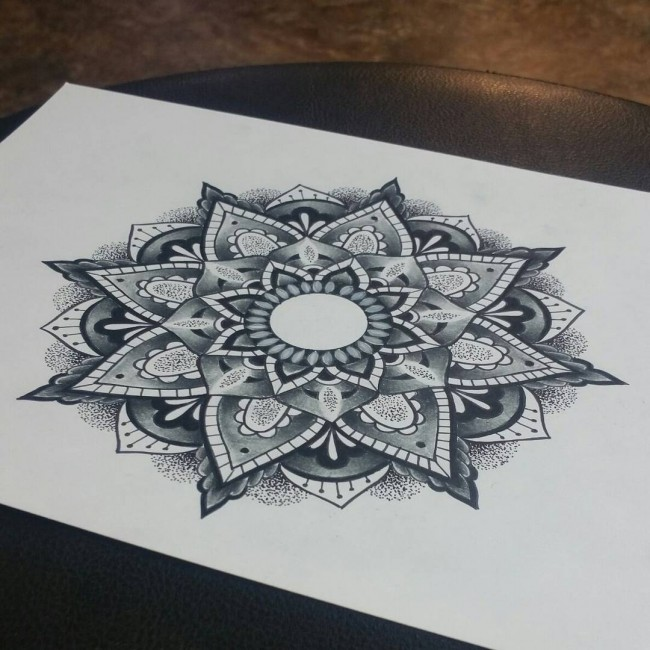 650x650 Best Mandala Tattoo Meanings Amp Designs