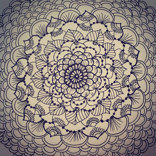 640x640 Mandala For Dayzz )) I Love To Draw Mandalas For A Number