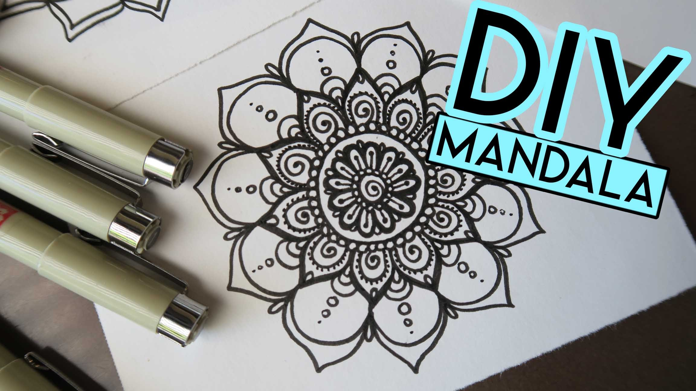2304x1296 How to Draw a MANDALA