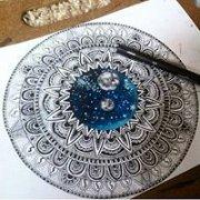 180x180 Mandala Drawing Workshop