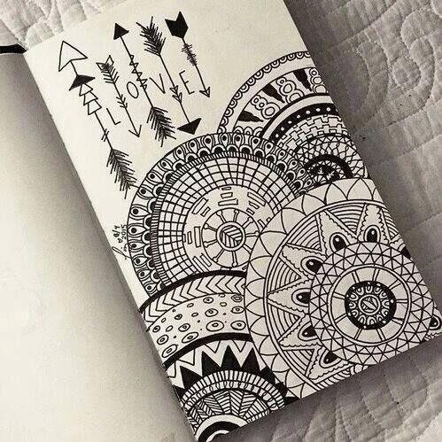 499x499 drawing, love, and mandala image art Pinterest Mandala