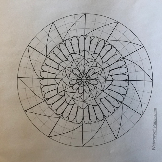 640x640 Drawing Mandalas, Easy, Fun And Relaxing + Source For Free