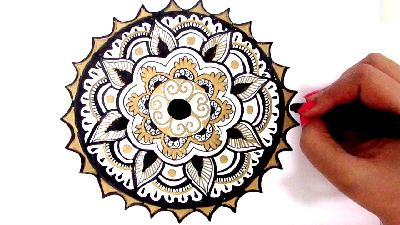 1280x720 How To Draw Mandala Beginners Guide