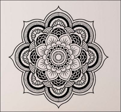 403x373 Keep The Peace In Your Spa Or Salon With This Beautiful Mandala.
