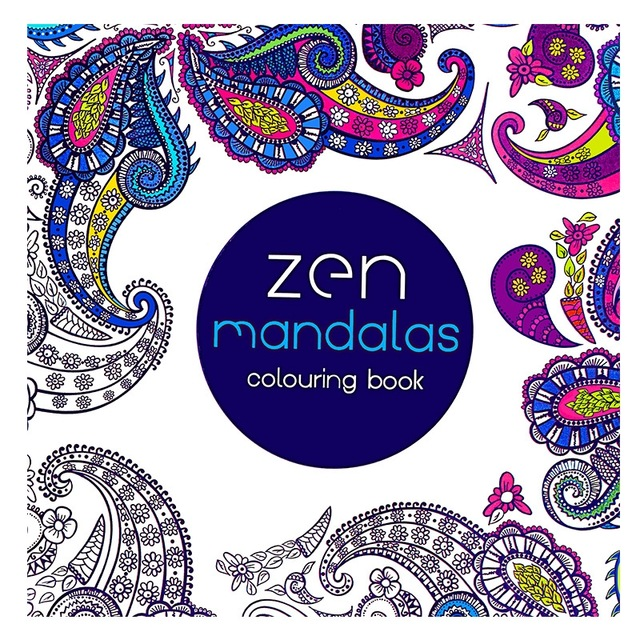 640x640 Mandalas Book Coloring Books For Adults Kids Antistress Art Books