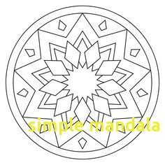 236x236 Simple Mandala Coloring Pages With Simple Mandala Coloring Pages