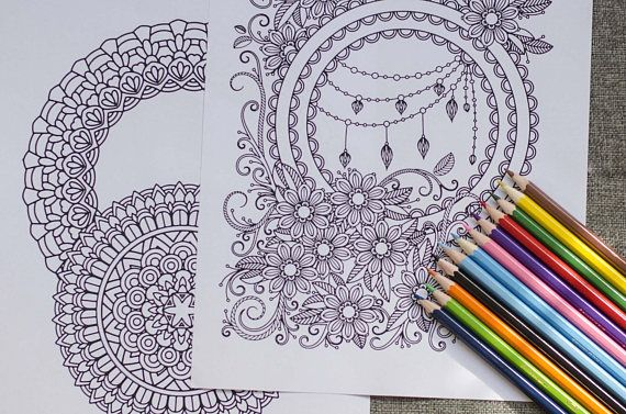 Mindfulness Coloring Pages Pdf : Mandala drawing pdf at getdrawings free for personal use