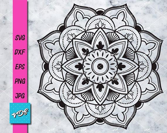 570x456 Mandala Svg.mandala Drawing.mandala Vector Clipart