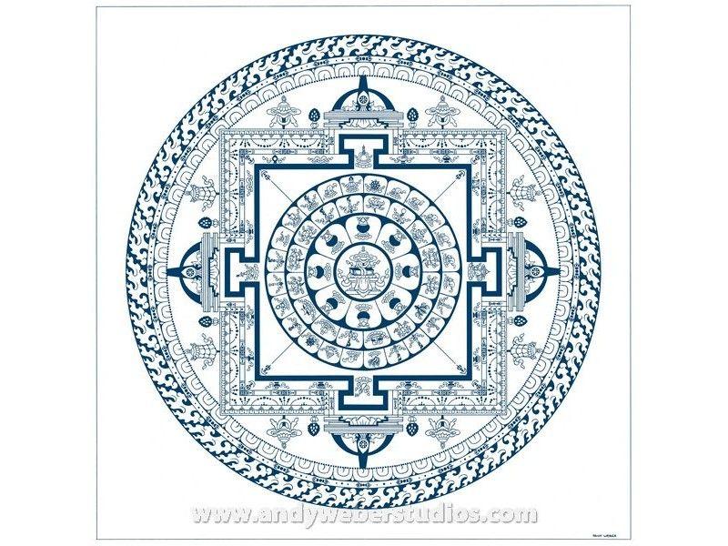 800x600 Printable Buddhist Mandala Drawing With Medicine Buddha Mandala 2