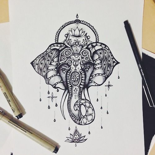 Mandala Elephant Drawing At Getdrawings Com Free For Personal Use