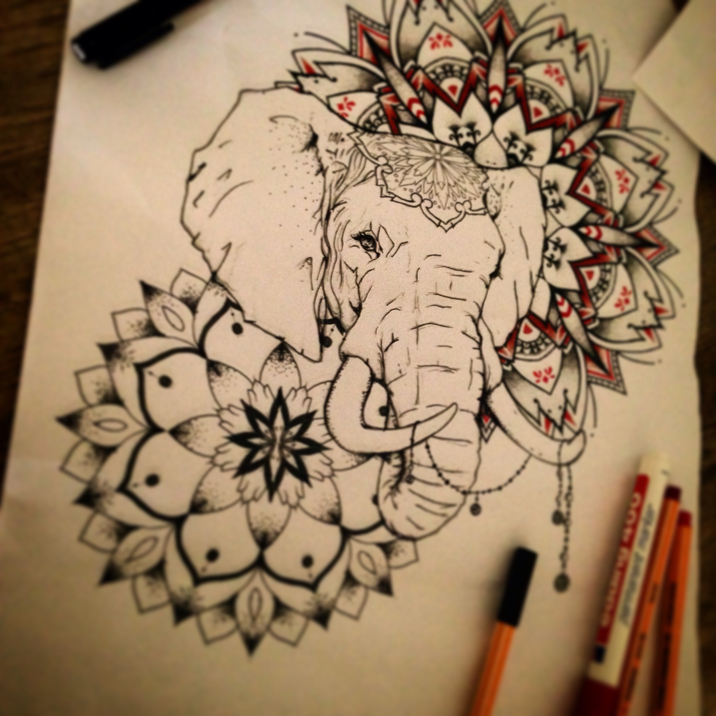 mandala elephant drawing at free for personal use mandala elephant drawing of. Black Bedroom Furniture Sets. Home Design Ideas