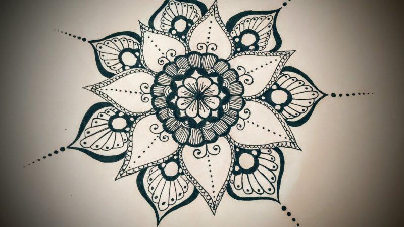 800x450 What Does Mandala Flower Mean