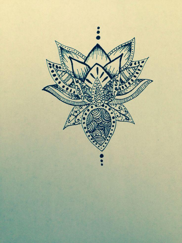736x981 Lotus Flower Drawing Mandala