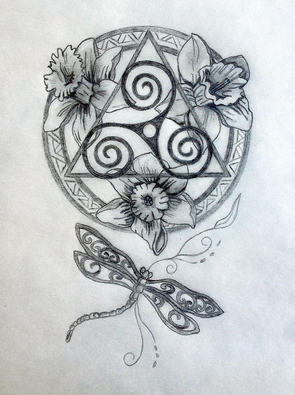 Mandala tattoo drawing at getdrawings free for personal use 982x1314 celtic mandala tattoo design tania marie39s blog izmirmasajfo