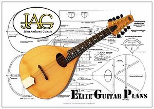 300x213 Luthiers Project Plandrawing To Build This A Style Mandolin Ideal