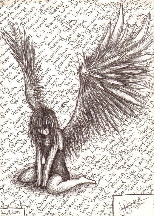 516x720 Fallen Angel By Syettaj