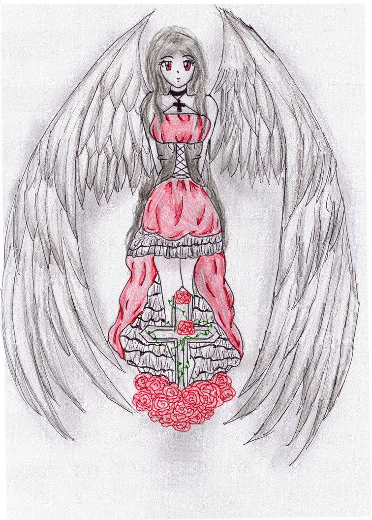 756x1056 Dark Angel Manga Coloured By Love Drawing Manga