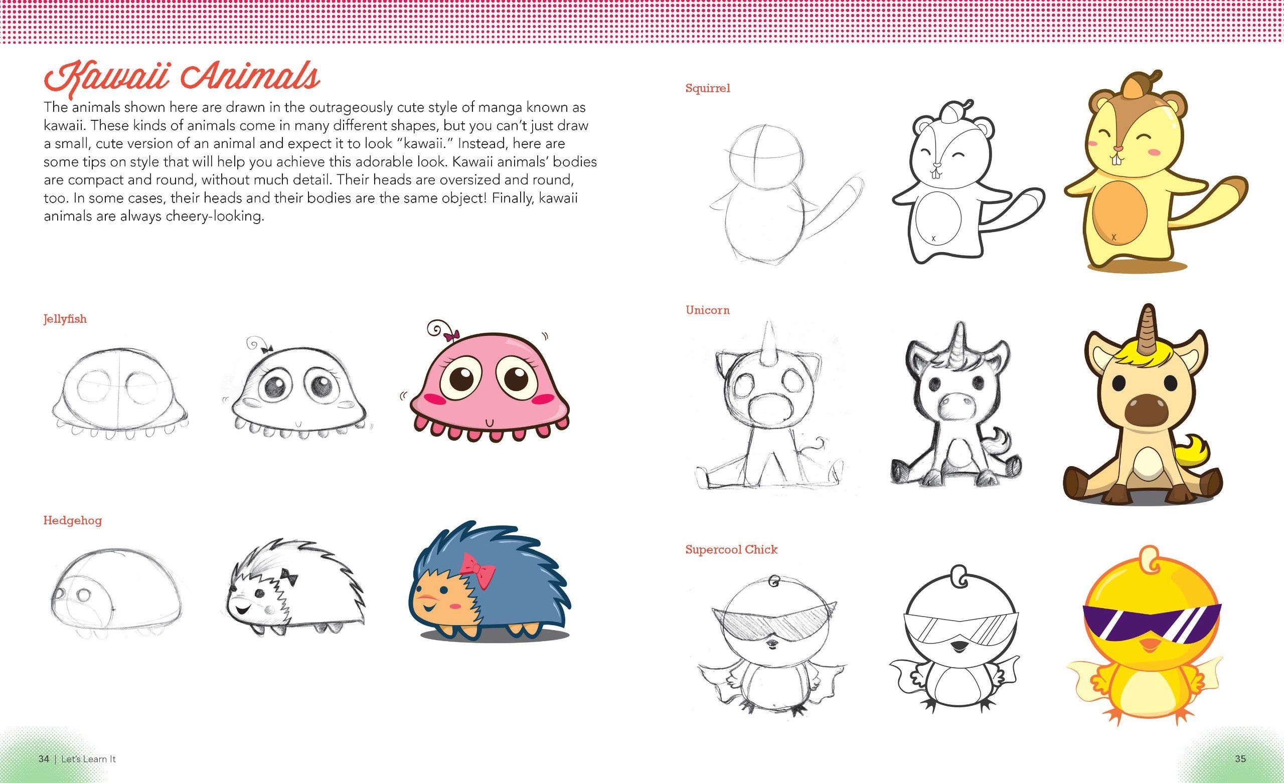2560x1562 Supercute Animals And Pets Christopher Hart's Draw Manga Now