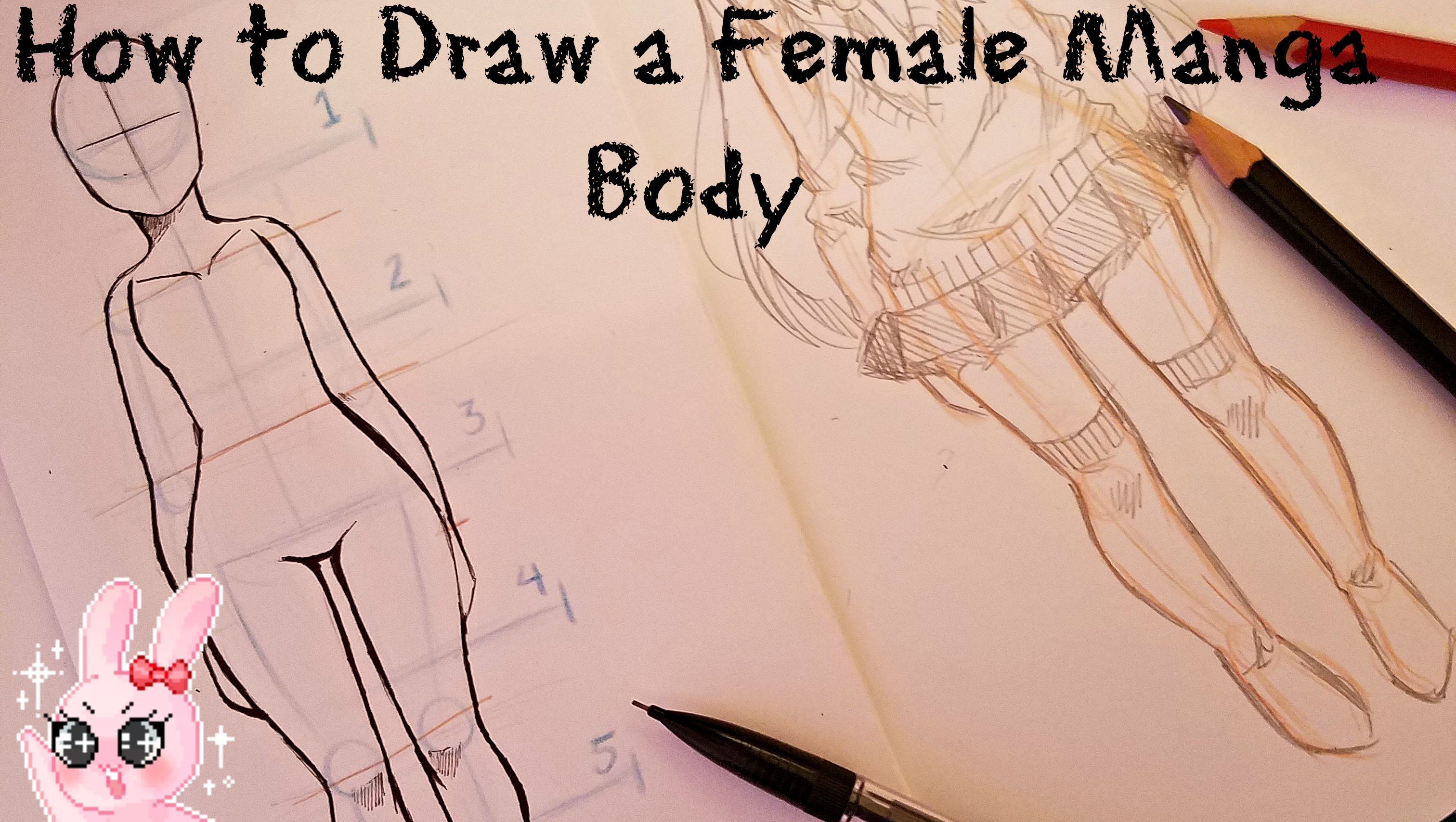 3024x1708 How To Draw A Female Manga Body