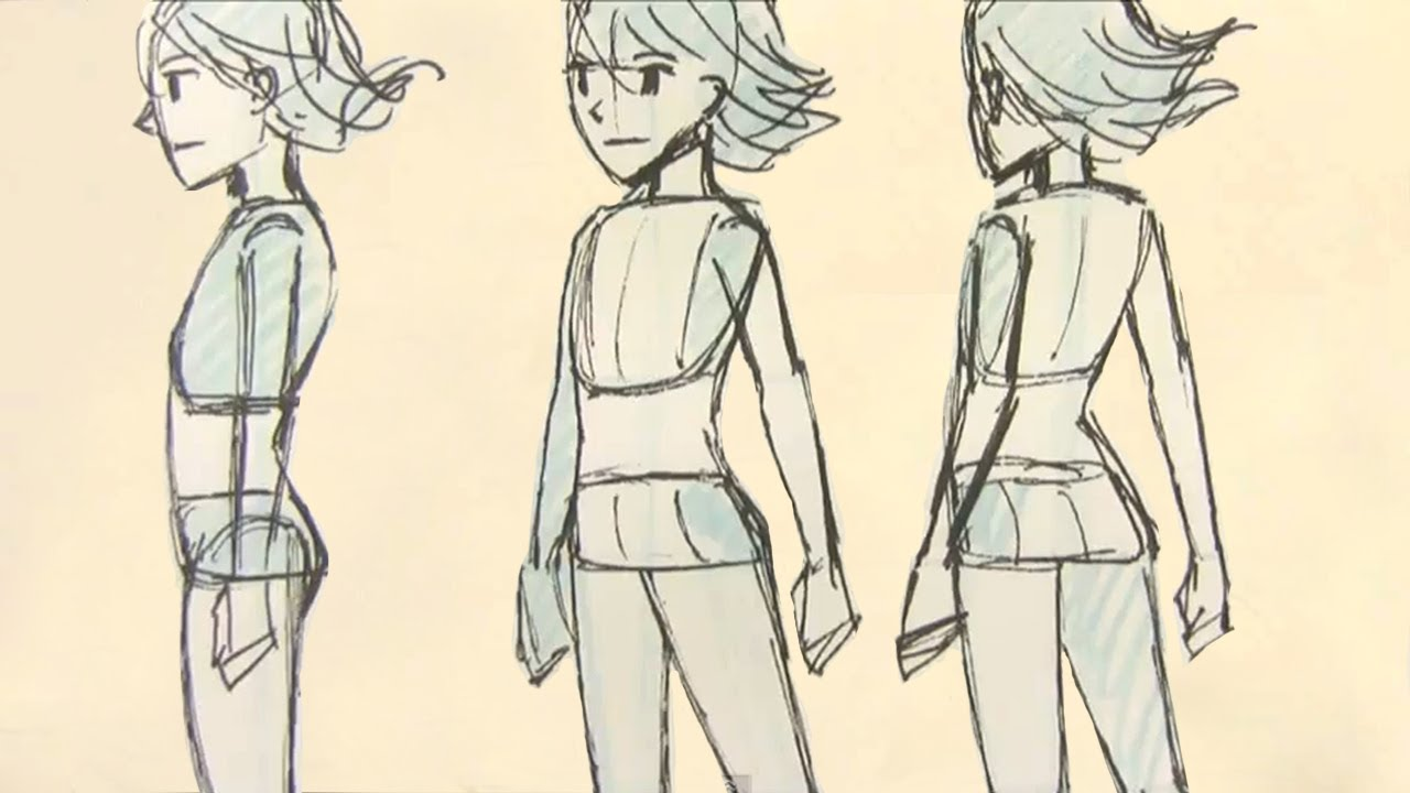 1280x720 How To Draw Manga Female Body Proportions