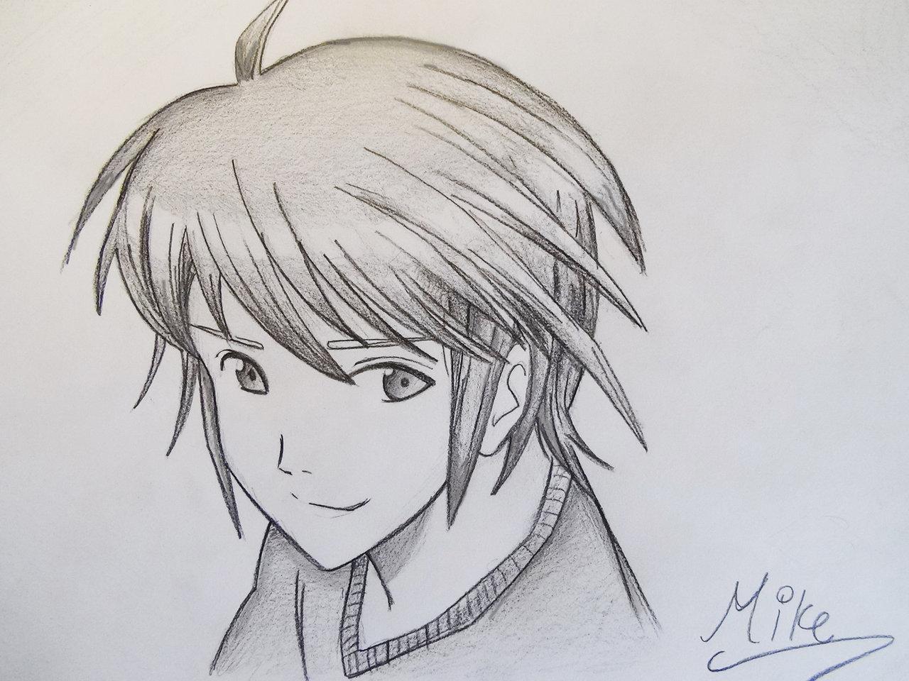 1280x960 Manga Style Boy! By On @