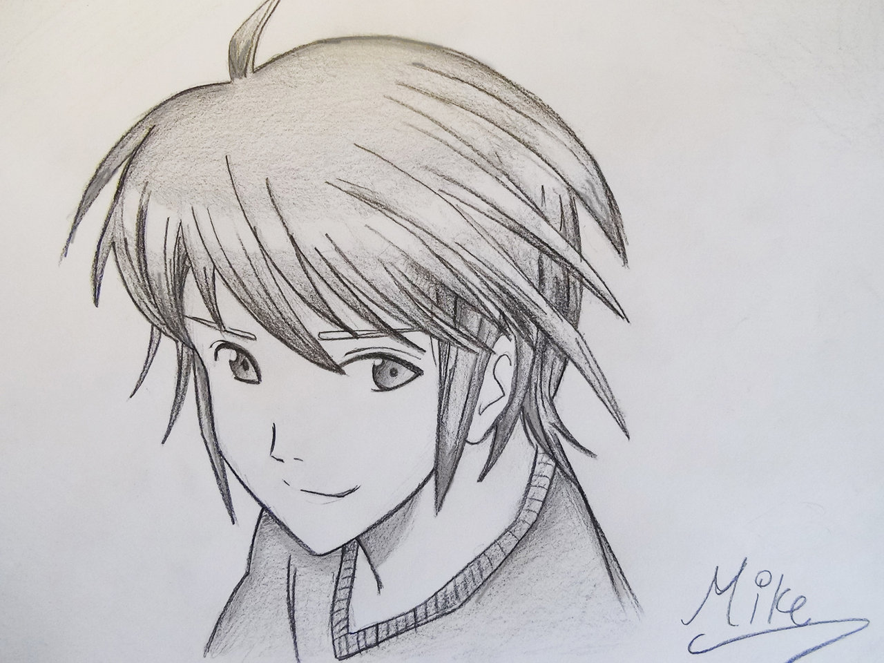 1280x960 Manga Style Boy! by on @DeviantArt