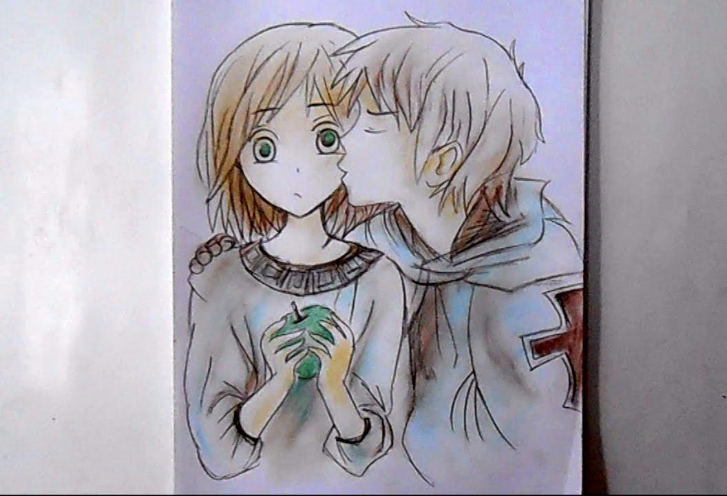 1056x720 how to draw manga girl and boy step by step how to draw manga