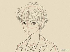 236x177 Photos Drawing Anime Boy Face,