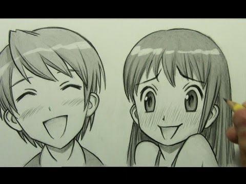 480x360 How to Draw Manga Facial Expressions (Joy, Embarrassment)