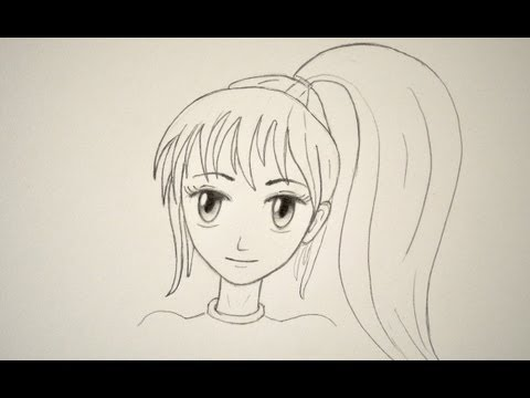 480x360 How to Draw a Manga Face Easily (Female)