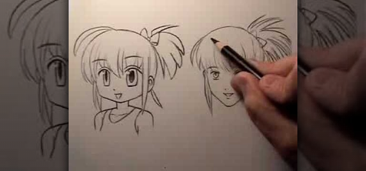 1280x600 How to Draw a realistic manga face Â« Drawing amp Illustration