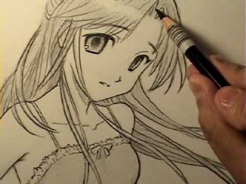 480x360 How to Draw an Innocent Looking Manga Girl [HTD Video