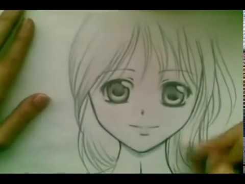 480x360 How to draw a Manga girl