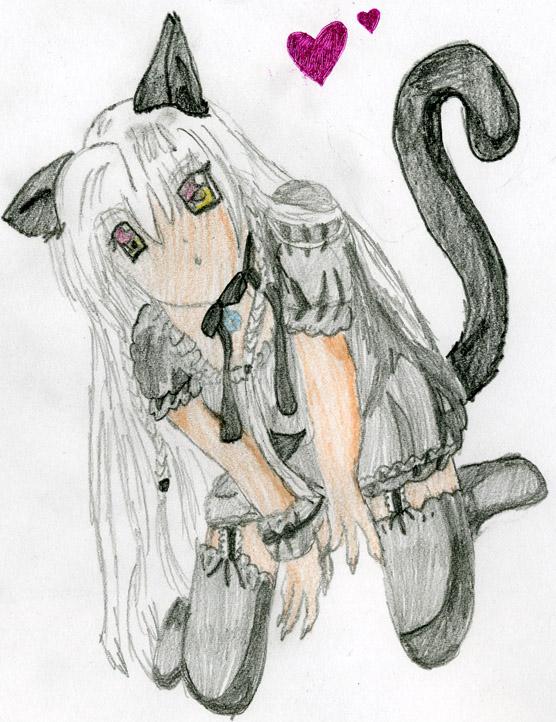 556x722 Manga Cat Girl By Nikelpie